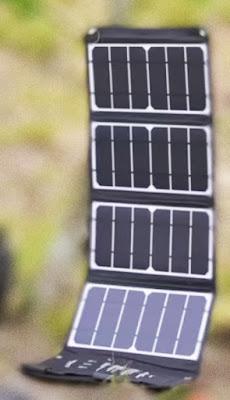 Paneles solares Desplegables para cargar distintos tipos de dispositivos