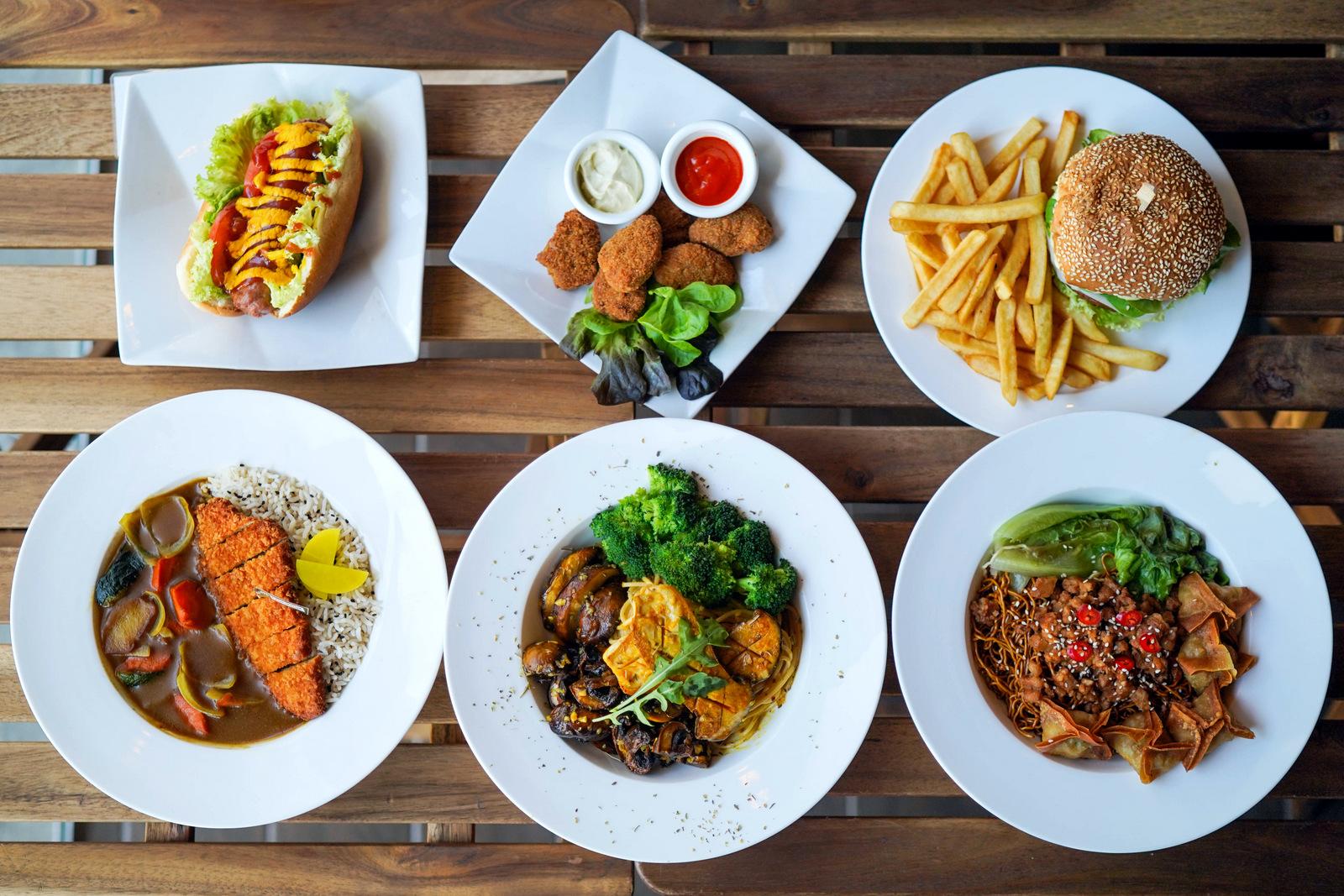 PC Studio Cafe: A progressive take on plant-powered burgers, pastas & snacks in Petaling Jaya