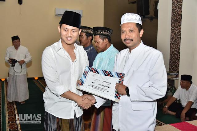 Gus Ipin Himbau Kamtibmas dalam Safari Ramadhan di Kecamatan Panggul