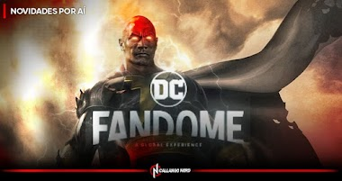 DC FANDOME   Dwayne Johnson trará novidades para Adão Negro no evento!