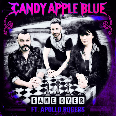 Candy Apple Blue Game Over Matt Pop Apollo Rogers Official Art