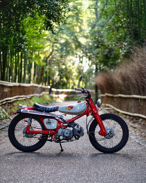 Honda Supercub By Hirock Kyoto Hell Kustom