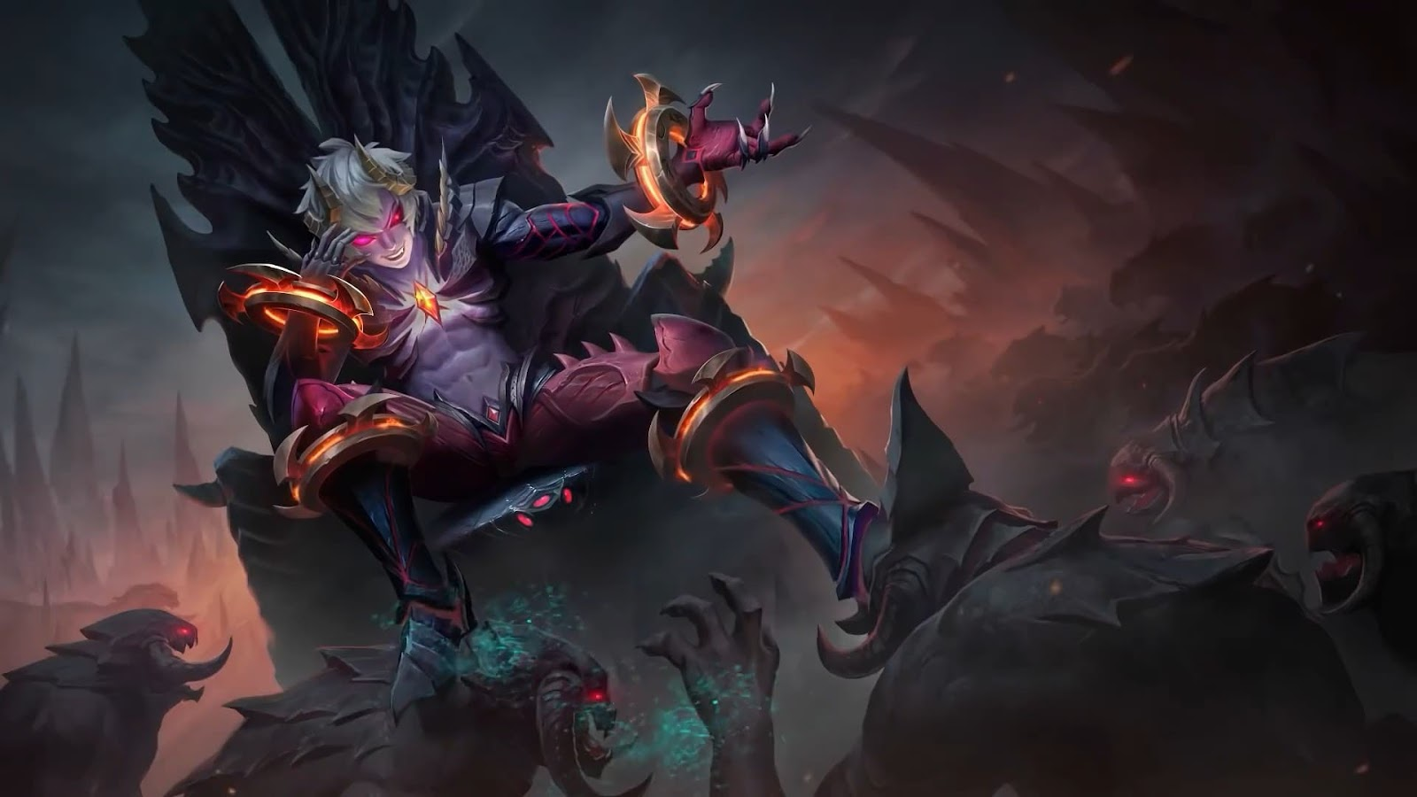 Wallpaper Dyrroth Prince of the Abyss Skin Mobile Legends HD for PC