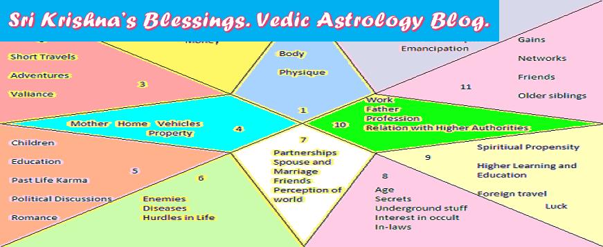 Sri Krishna's Blessings  Vedic Astrology Blog