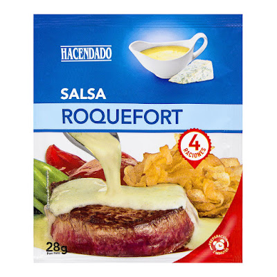 Salsa deshidratada roquefort Hacendado
