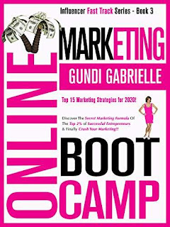 ONLINE MARKETING BOOT CAMP - a business/marketing book by Gundi Gabrielle