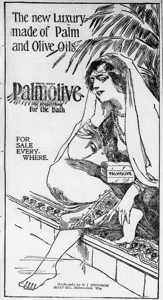 Palmolive Soap, ad August 25, 1899
