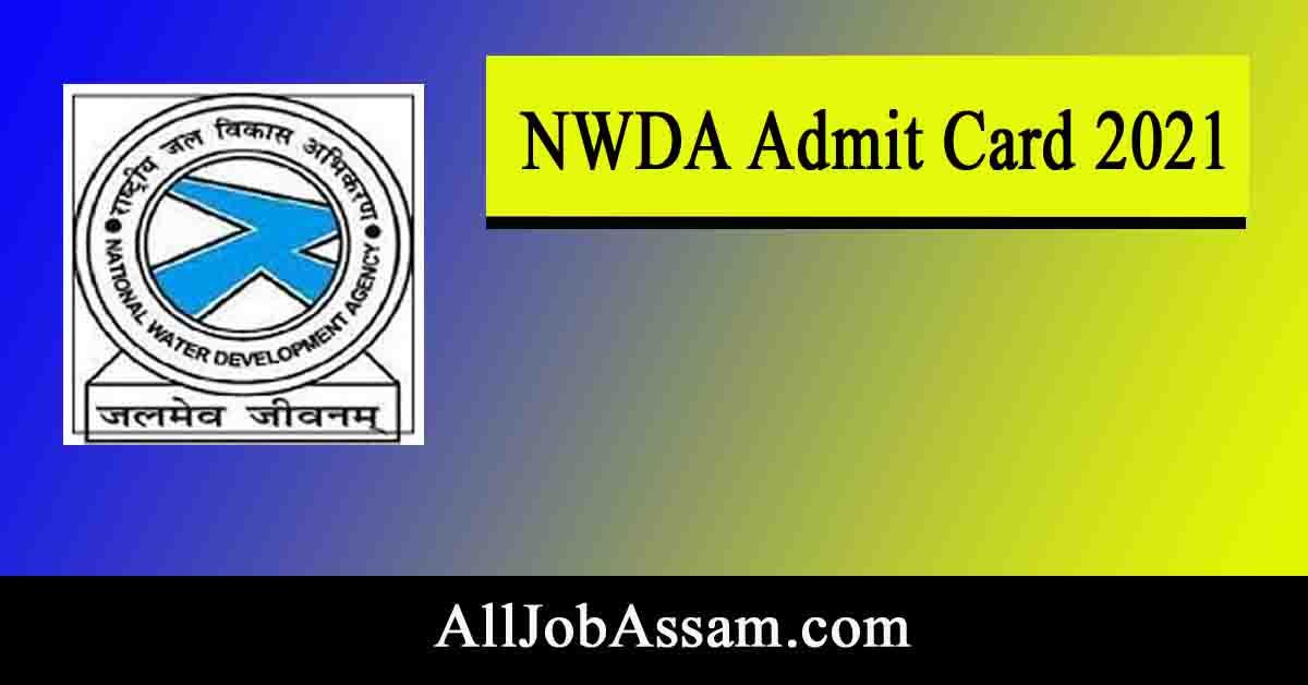 NWDA Admit Card 2021