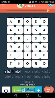 WordBrain 2 soluzioni: Categoria Trucco (5X6) Livello 2