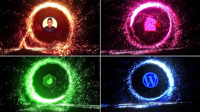 أحصل مجانا على هذا الانترو الرائع Portal Logo جاهز للتحميل والتعديل مجانا برنامج | أفتر إفكت