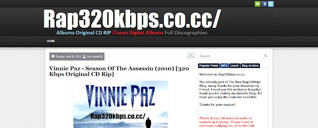 Albums 2011   Rap 320 Kbps [Albums Original CD Rip - iTunes Digital