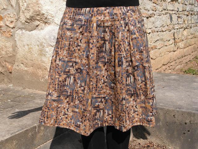 jupe bohème en couture