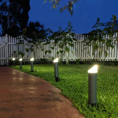 Iluminación para entradas y caminos