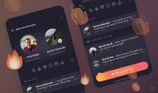 Hotline mixes Clubhouse with Instagram Live