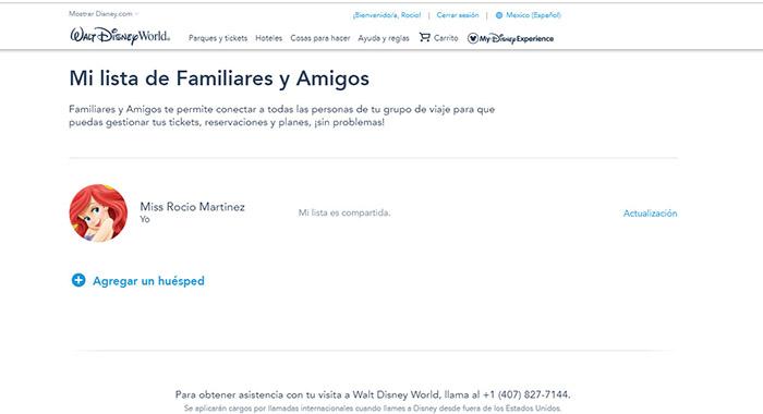 cuenta Disney