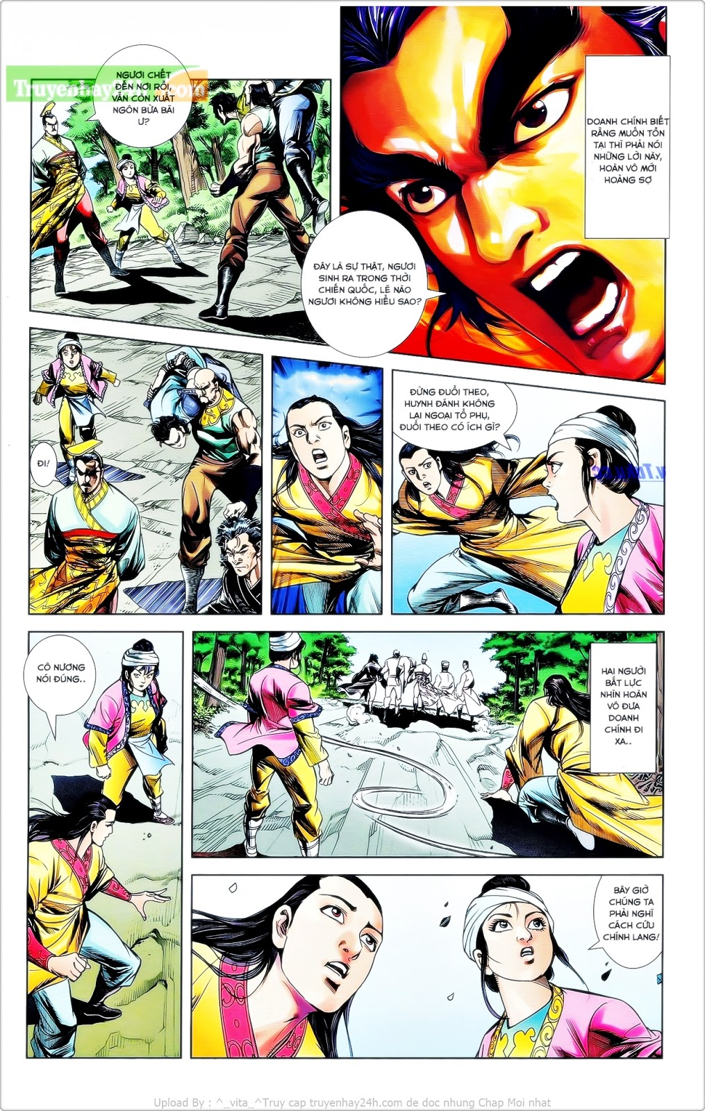 Tần Vương Doanh Chính chapter 24 trang 6