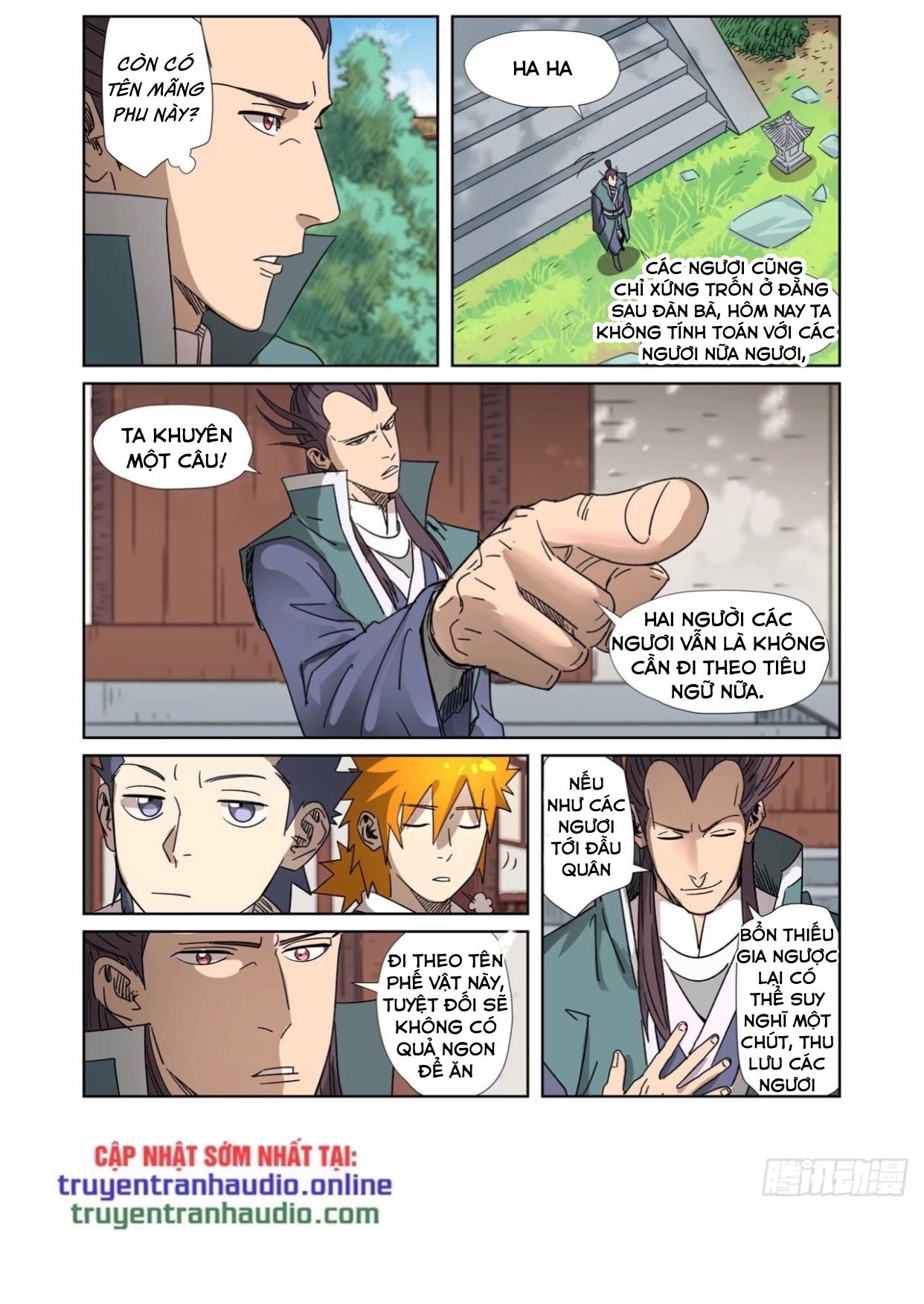Yêu Thần Ký chap 302.5 - Trang 4