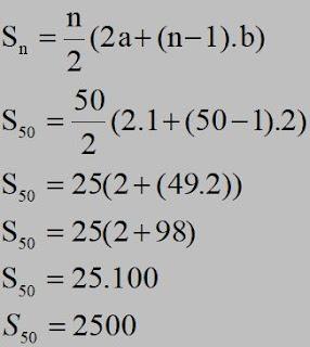 contoh soal deret aritmatika