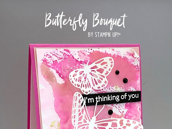 VIDEO - Make your own Butterfly Bijou Paper!