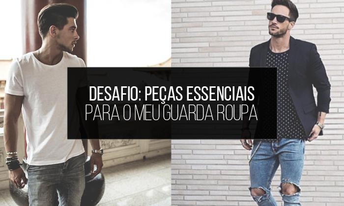 Macho Moda - Blog de Moda Masculina   Desafio  10 Peças Essenciais ... b8cc3e21e263b