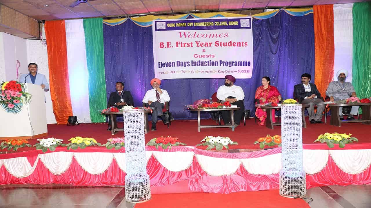 Induction Program for B.E first Year Students 2019