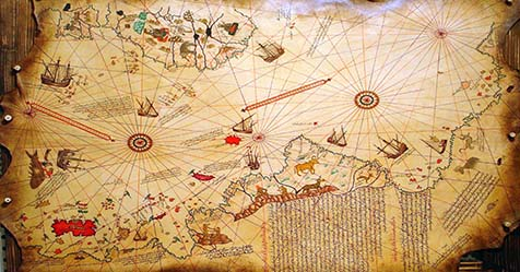 Unsolved Mystery of Piri Reis Map