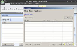 تنزيل برنامج حماية الكمبيوتر من الفيروسات Blue Atom Antivirus