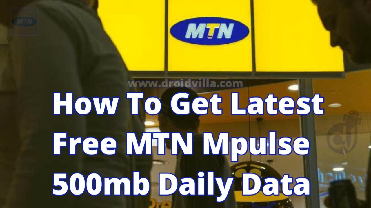 MTN Mpulse Free 500mb data