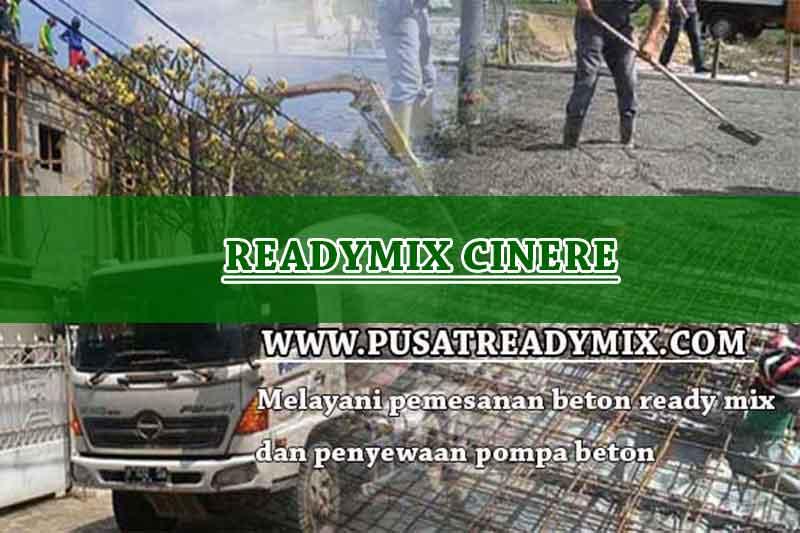 Harga Beton Ready mix Cinere 2020