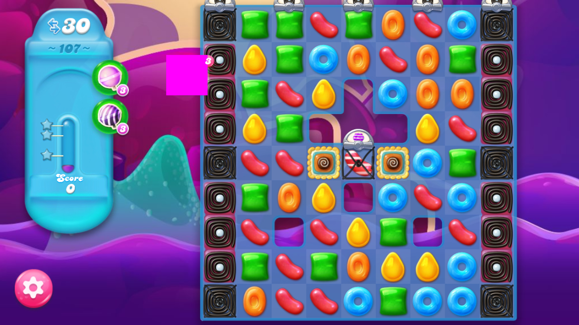 Candy Crush Jelly Saga 107