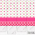 Sweet 16 Pink, Green and White Polka Dots: Free Printable Boxes.