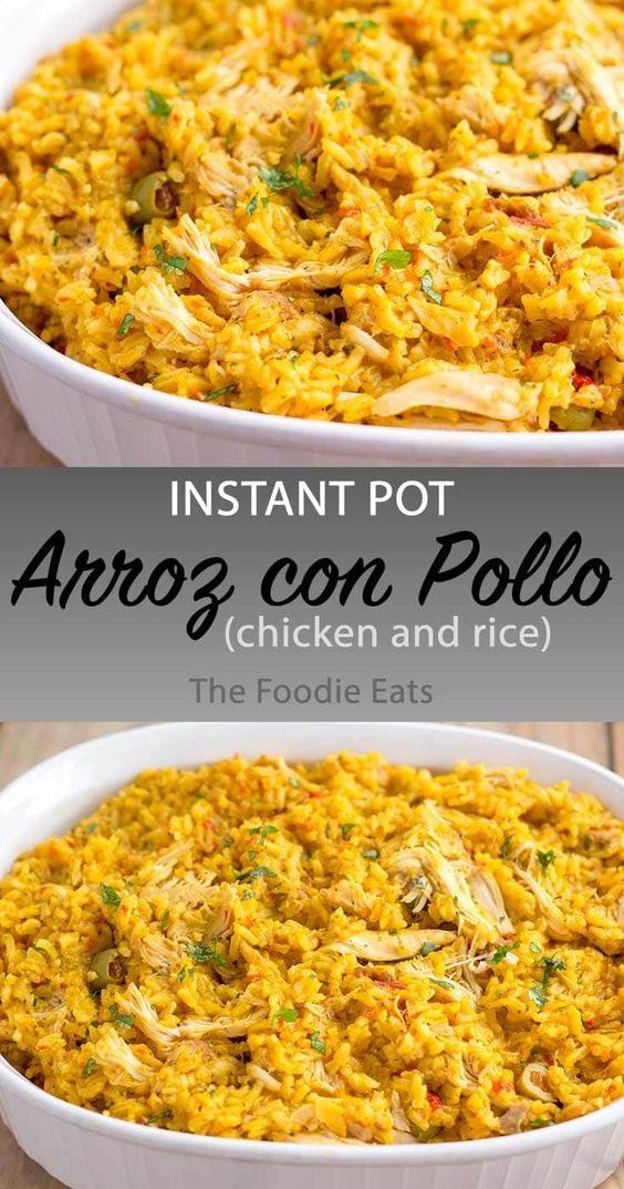 Pressure Cooker Arroz con Pollo