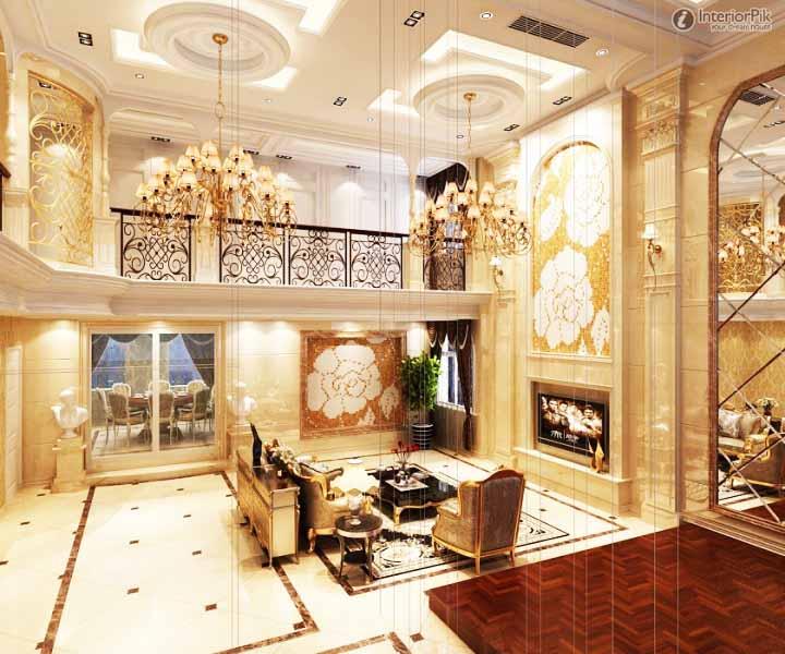 64 Desain Elegan Interior Ruang Tamu Mewah  Rumahku Unik