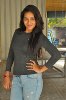 Actress Bhanu Tripathri Pos in Ripped Jeans at Iddari Madhya 18 Movie Pressmeet  0072.JPG