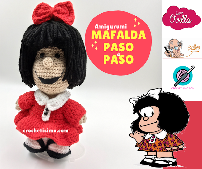 MAFALDA AMIGURUMI PASO A PASO