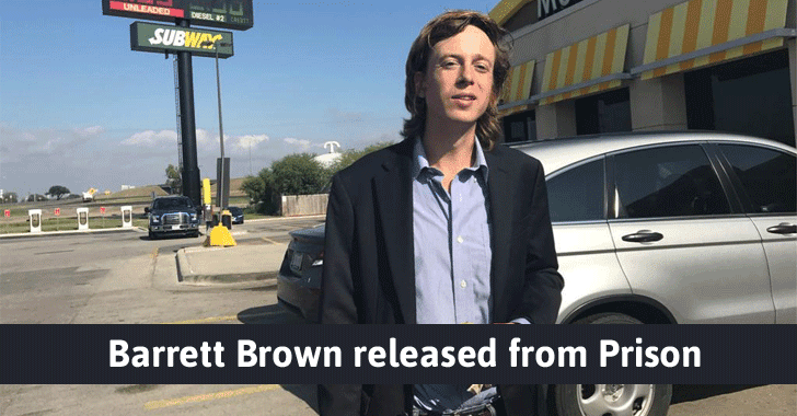 Anonymous Hacktivist 'Barrett Brown' Released From Prison