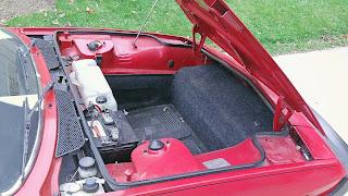 Bertone X 1/9 battery