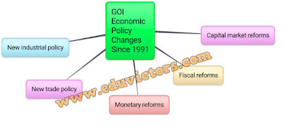 CBSE Class 12 - Business Studies - Business Environment - GOI Economic Policy Changes Since 1991 (#cbseNotes)