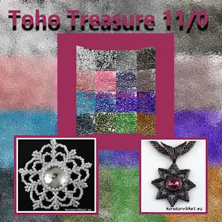 Toho treasure siemenhelmet - helmikauppa netissä - korutarvikkeet, lasihelmet