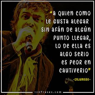 Vocalista de Enjambre Luis Humberto Navejas