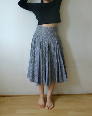 principles-striped-multipiece-circle-skirt