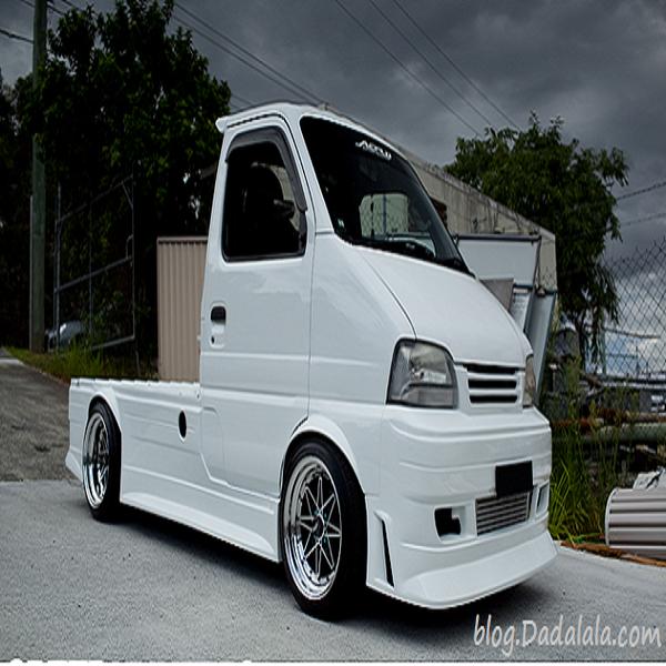 Foto modifikasi mobil pick up ceper mega carry 1 5 grand ...
