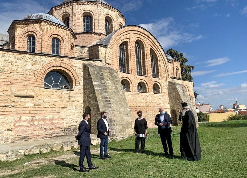 900.000 ευρώ για συντήρηση και αποκατάσταση των τοιχογραφιών του ναού της Παναγίας Κοσμοσώτειρας στις Φέρες