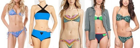 Latest Bikini Trends in 2012