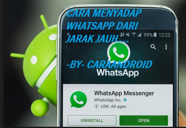 Cara Sadap WhatsaApp dari Jarak jauh Terbukti Work!