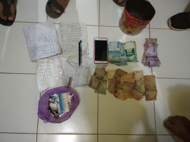 Polres Bima Bekuk Terduga Pelaku Judi Online di Desa Rato Kecamatan Bolo