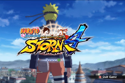 Naruto Storm 4 Save Game 100% Complete