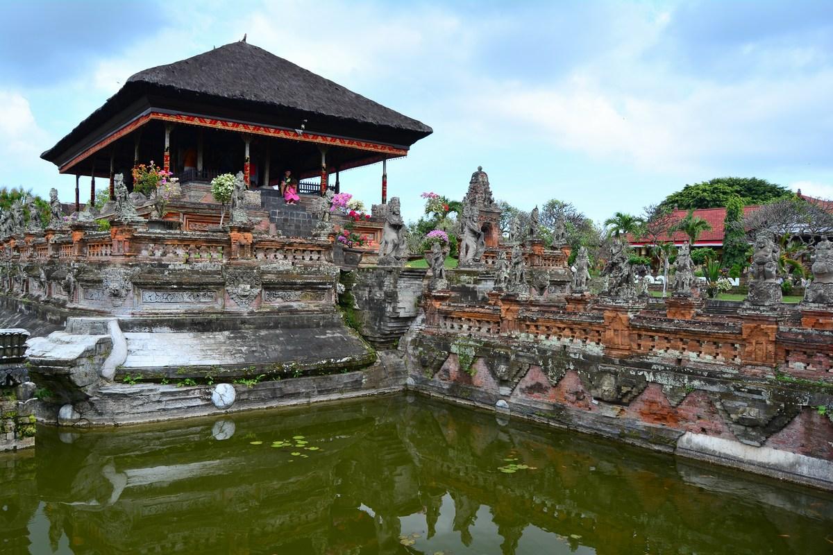 palais de Klungkung Bali