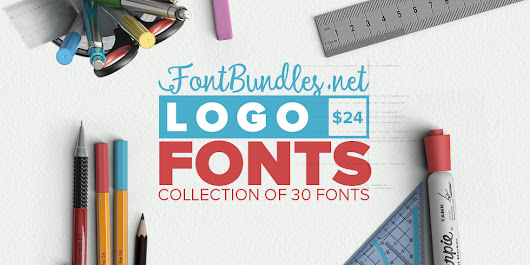 The Logo Fonts Bundle - HURRY - YandiDesigns