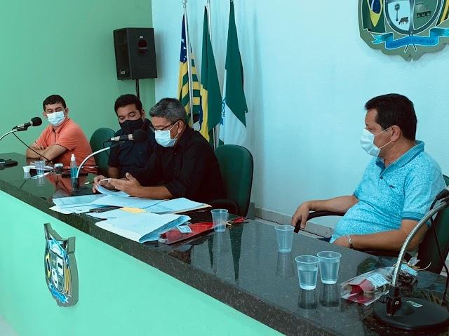 Comissão Especial realiza oitiva de ex-presidente da Câmara de Campo Maior